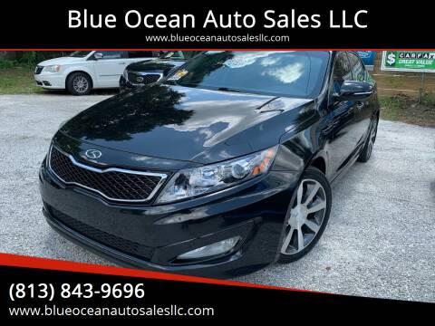 2011 Kia Optima for sale at Blue Ocean Auto Sales LLC in Tampa FL