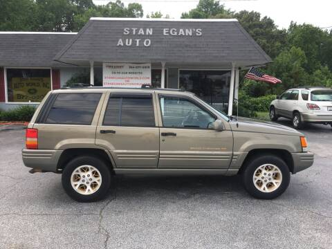 1997 Jeep Grand Cherokee for sale at STAN EGAN'S AUTO WORLD, INC. in Greer SC