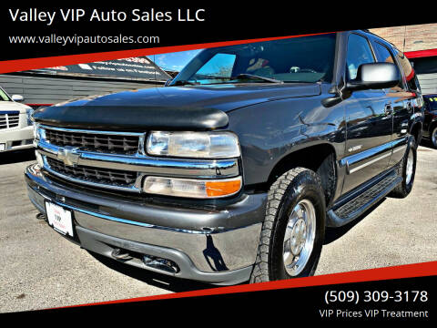 2001 Chevrolet Tahoe for sale at Valley VIP Auto Sales LLC in Spokane Valley WA