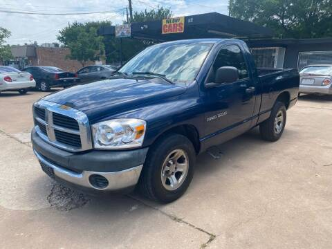 2006 Dodge Ram Pickup 1500 for sale at Cash Car Outlet in Mckinney TX