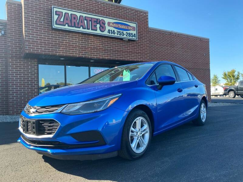2017 Chevrolet Cruze for sale at Zarate's Auto Sales in Caledonia WI