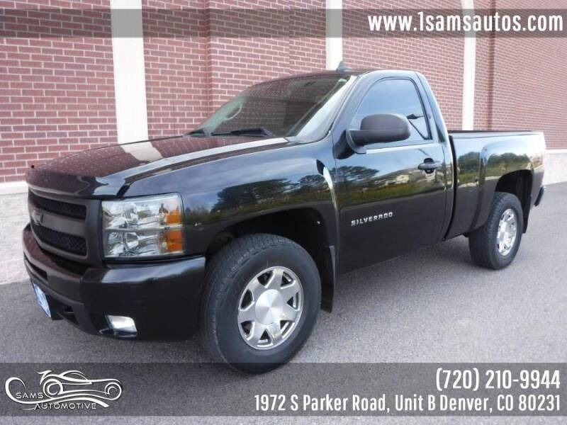 2010 Chevrolet Silverado 1500 for sale at SAM'S AUTOMOTIVE in Denver CO
