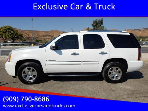 2008 GMC Yukon for sale at Exclusive Car & Truck in Yucaipa CA