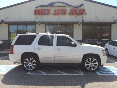 2010 Chevrolet Tahoe for sale at DOUG'S AUTO SALES INC in Pleasant View TN