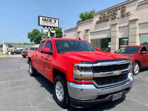 2019 Chevrolet Silverado 1500 LD for sale at JACK'S MOTOR COMPANY in Van Buren AR
