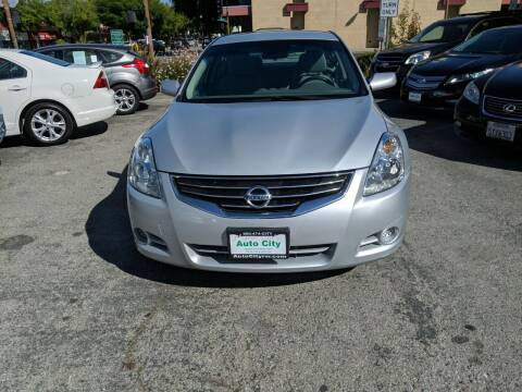 2011 Nissan Altima for sale at Auto City in Redwood City CA
