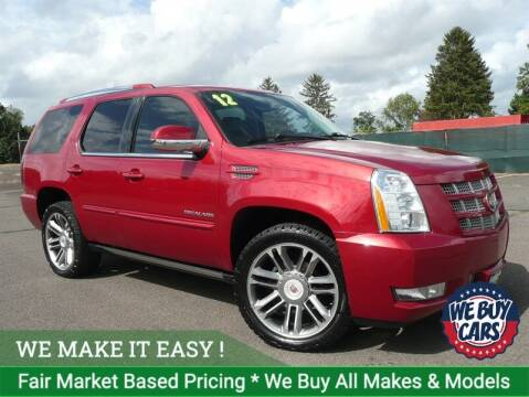 2012 Cadillac Escalade for sale at Shamrock Motors in East Windsor CT