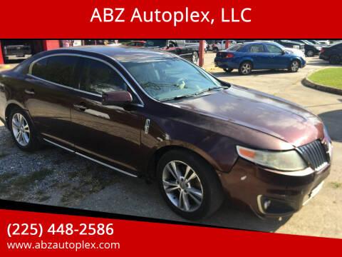 2010 Lincoln MKS for sale at ABZ Autoplex, LLC in Baton Rouge LA