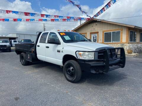 2007 Dodge Ram Chassis 3500 for sale at The Trading Post in San Marcos TX