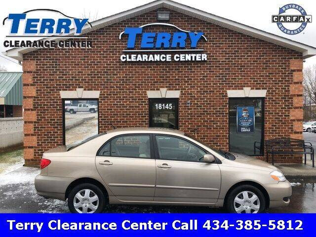 2005 Toyota Corolla for sale at Terry Clearance Center in Lynchburg VA
