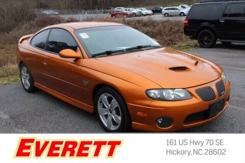 2006 Pontiac GTO for sale at Everett Chevrolet Buick GMC in Hickory NC