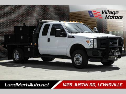 2013 Ford F-350 Super Duty for sale at Village Motors in Lewisville TX