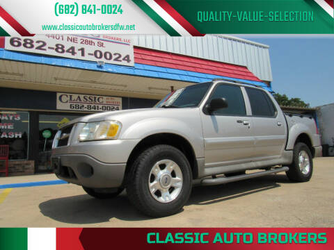 2003 Ford Explorer Sport Trac for sale at Classic Auto Brokers in Haltom City TX