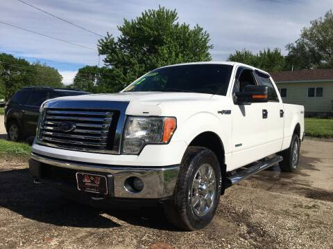 2012 Ford F-150 for sale at A & J AUTO SALES in Eagle Grove IA