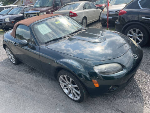 2007 Mazda MX-5 Miata for sale at Trocci's Auto Sales in West Pittsburg PA