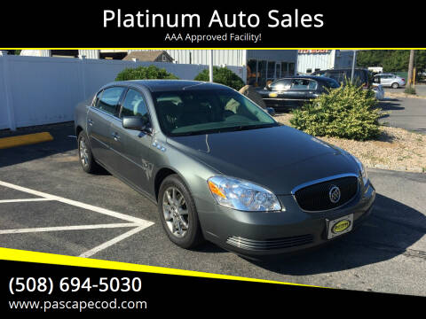 2007 Buick Lucerne for sale at Platinum Auto Sales in South Yarmouth MA