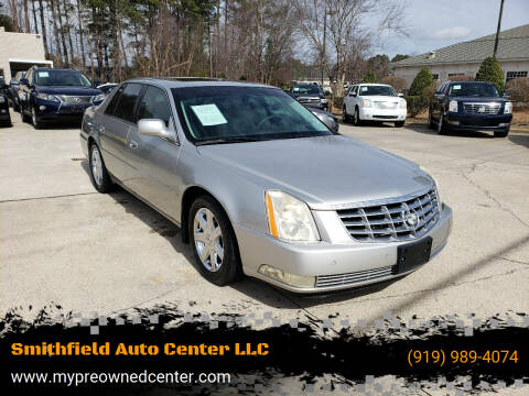 2007 Cadillac DTS for sale at Smithfield Auto Center LLC in Smithfield NC