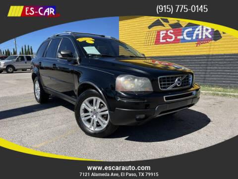 2011 Volvo XC90 for sale at Escar Auto - 9809 Montana Ave Lot in El Paso TX