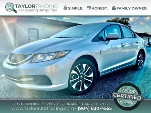 2015 Honda Civic for sale at Taylor Trading in Orange Park FL