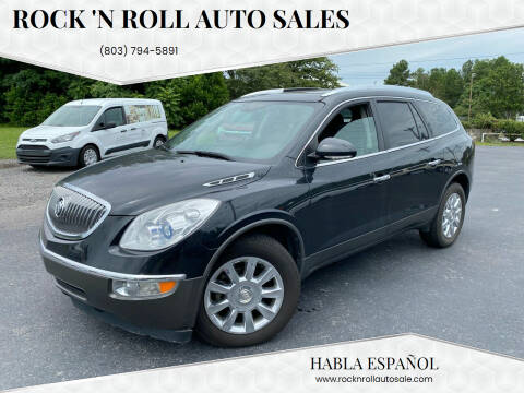 2012 Buick Enclave for sale at Rock 'n Roll Auto Sales in West Columbia SC