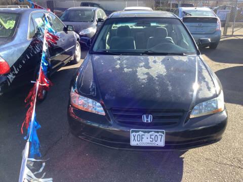 2002 Honda Accord for sale at GPS Motors in Denver CO