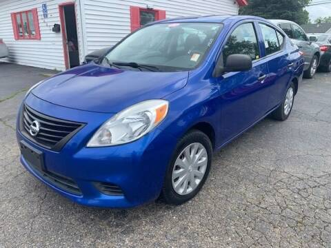 2012 Nissan Versa for sale at A Class Auto Sales in Indianapolis IN