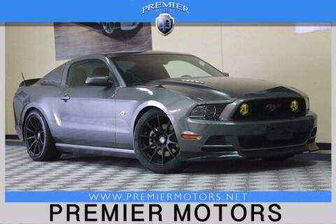 2013 Ford Mustang for sale at Premier Motors in Hayward CA