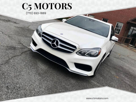 2014 Mercedes-Benz E-Class for sale at C5 Motors in Marietta GA