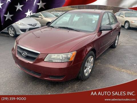 2007 Hyundai Sonata for sale at AA Auto Sales Inc. in Gary IN