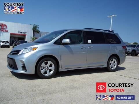 2020 Toyota Sienna for sale at Courtesy Toyota & Ford in Morgan City LA