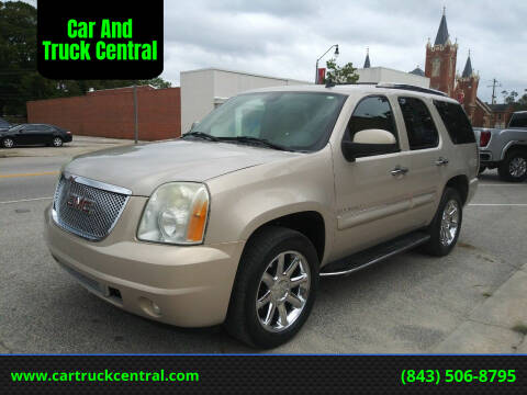 2007 GMC Yukon for sale at Car And Truck Central in Dillon SC