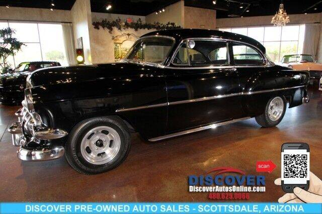 1954 Chevrolet Series 210 Two-Ten Deluxe 2 Do for sale at Discover Pre-Owned Auto Sales in Scottsdale AZ