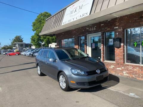 2010 Volkswagen Jetta for sale at M&M Auto Sales in Portland OR