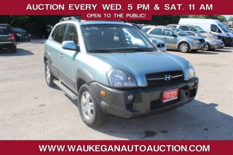 2008 Hyundai Tucson for sale at Waukegan Auto Auction in Waukegan IL