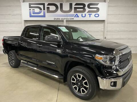 2019 Toyota Tundra for sale at DUBS AUTO LLC in Clearfield UT
