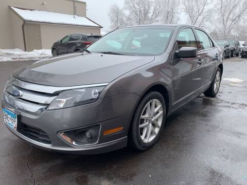 2012 Ford Fusion for sale at MIDWEST CAR SEARCH in Fridley MN