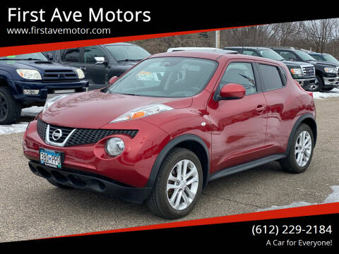 2014 Nissan JUKE for sale at First Ave Motors in Shakopee MN