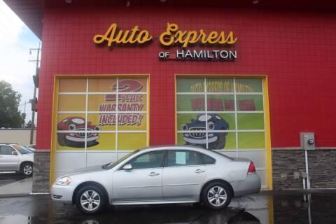 2012 Chevrolet Impala for sale at AUTO EXPRESS OF HAMILTON LLC in Hamilton OH