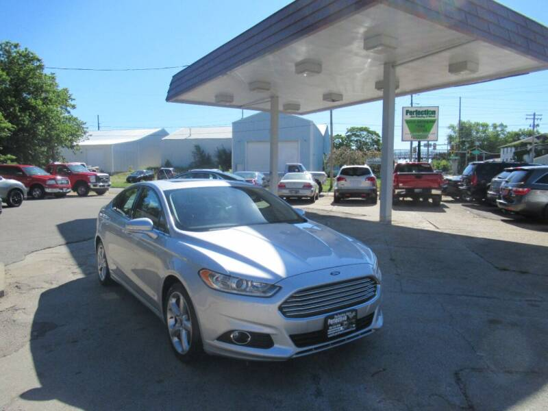 2015 Ford Fusion for sale at Perfection Auto Detailing & Wheels in Bloomington IL