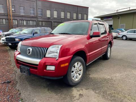2006 Mercury Mountaineer for sale at Aberdeen Auto Sales in Aberdeen WA