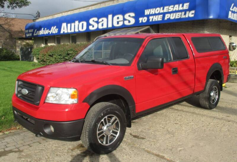 2008 Ford F-150 for sale at Lookin-Nu Auto Sales in Waterford MI