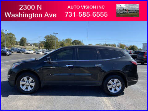 2013 Chevrolet Traverse for sale at Auto Vision Inc. in Brownsville TN