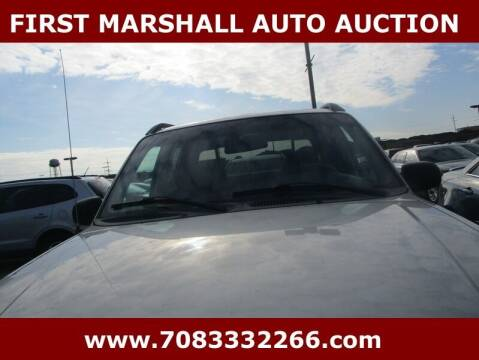 2002 Ford Explorer Sport Trac for sale at First Marshall Auto Auction in Harvey IL