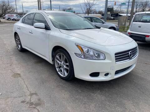 2010 Nissan Maxima for sale at A Class Auto Sales in Indianapolis IN