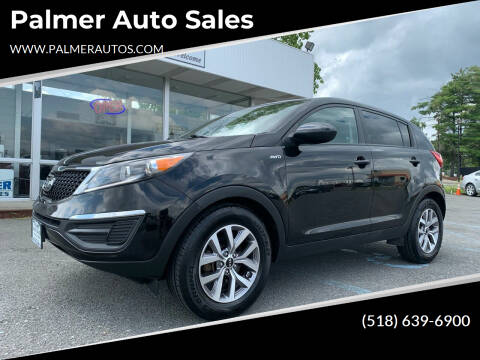 2016 Kia Sportage for sale at Palmer Auto Sales in Menands NY