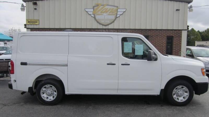 2018 Nissan NV Cargo for sale at Vans Of Great Bridge in Chesapeake VA