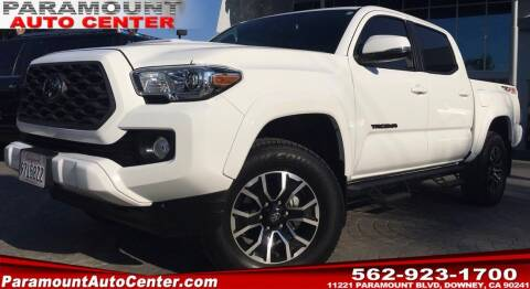 2020 Toyota Tacoma for sale at PARAMOUNT AUTO CENTER in Downey CA