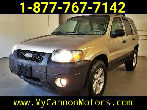 2007 Ford Escape for sale at Cannon Motors in Silverdale PA