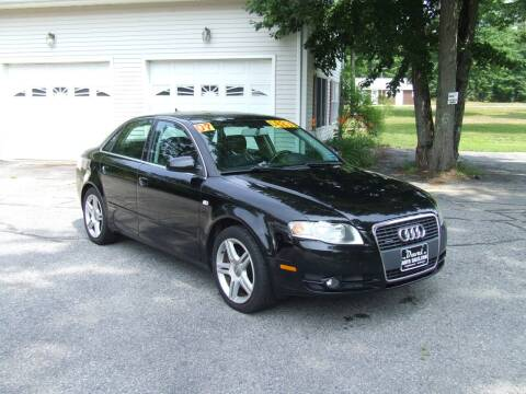 2007 Audi A4 for sale at DUVAL AUTO SALES in Turner ME
