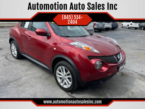 2012 Nissan JUKE for sale at Automotion Auto Sales Inc in Kingston NY